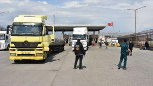 Irak sınırında temassız ticaret