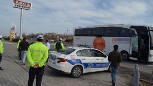 Otobüs şoförüne fazla yolcu cezası
