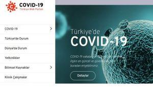 TÜBİTAK'tan COVID-19 portalı