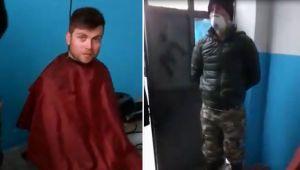 Çankırı'da kaçak saç tıraşına polis baskını