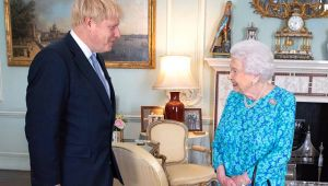 Kraliçe Elizabeth'ten 'Boris Johnson' mesajı