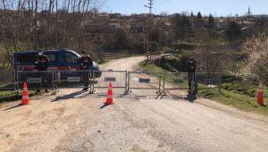 Trakya'da karantinaya alınan ilk köy