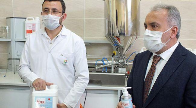 Yozgat Bozok Üniversitesi'nde, kenevir esanslı sıvı sabun üretildi