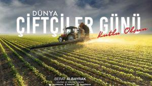 Bakan Albayrak'tan 'Çiftçiler Günü' mesajı