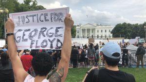 Beyaz Saray'da George Floyd korkusu