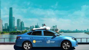 Çin'de sürücüsüz robot taksiler piyasada