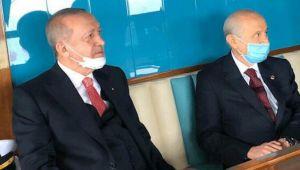 Cumhurbaşkanı Erdoğan ve Bahçeli'den aylar sonra ilk kare