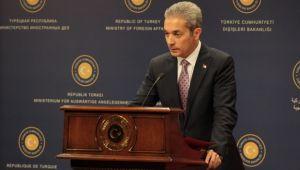 Dışişleri Bakanlığı Sözcüsü Aksoy'dan Kazakistan açıklaması