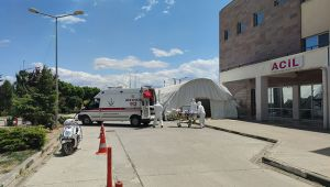 Hasta ziyaretine giden 48 kişi karantinaya alındı