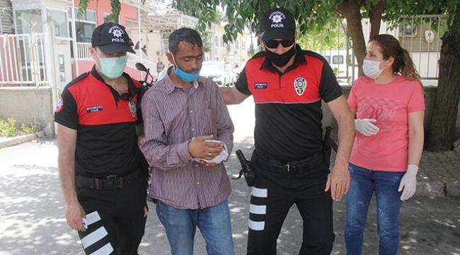 Hastane önlerindeki zorba dilencilere vatandaş isyan etti