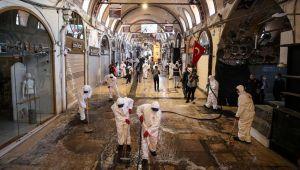Haziran'da açılacak Kapalıçarşı dezenfekte edildi