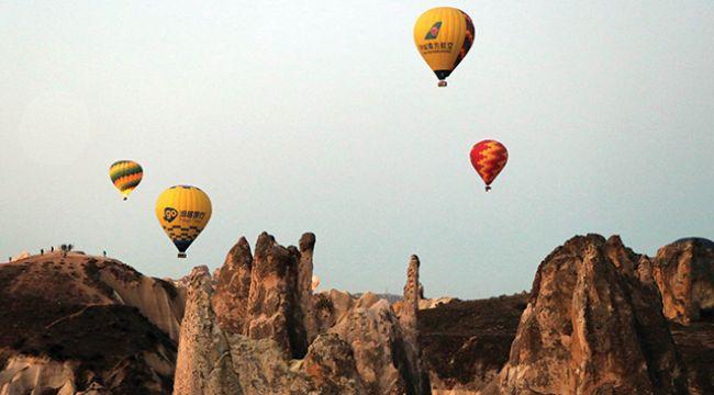 Kapadokya, İstanbul'dan sonra en fazla ziyaretçi alan bölge oldu