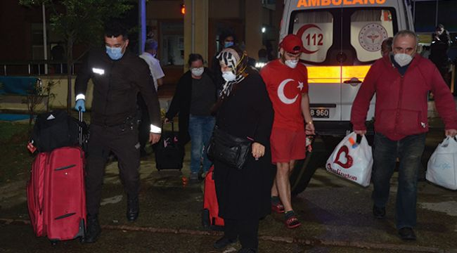 Karantina yurtlarından vatandaşların tahliyeleri sürüyor