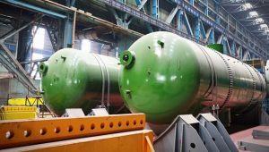 Buhar jeneratörlerinin üretimi tamamlandı