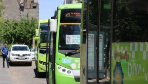 Diyarbakır'da halk otobüsü şoförünün korona virüs testi pozitif çıktı