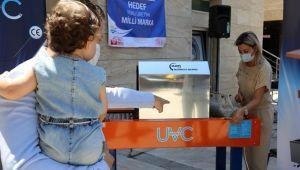 Genç girişimciler koronavirüsü arındıran cihaz geliştirdi