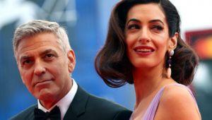 George Clooney ve Amal'den örnek davranış