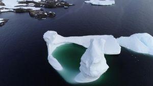 Güney Kutbu günden güne eriyor