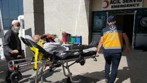 Kurbanlık koçla kafa tokuşturunca kemiklerini kırdı