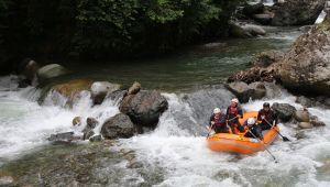 Tunca Vadisi'nde yeni rafting parkuru açıldı