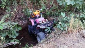 ATV aracıyla dereye uçan kadın hayatını kaybetti