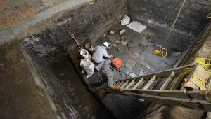 Aztek Sarayı'nın kalıntıları bulundu