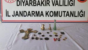 Diyarbakır'da tarih eser satan 4 kişi suçüstü yakalandı