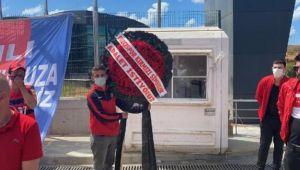 Düzcespor taraftarları TFF'yi protesto etti