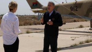Hulusi Akar Libya'da BBC'ye konuştu