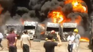İran'da tanker faciası!