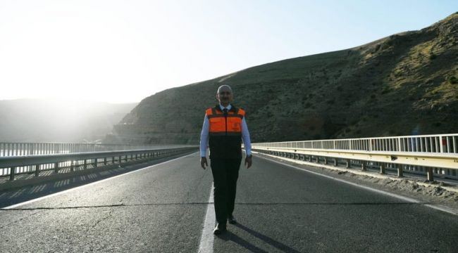 Kuzey Marmara Otoyolu'nda bayram trafiği için geçici açılış