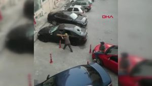 Otomobili paramparça ettiler!