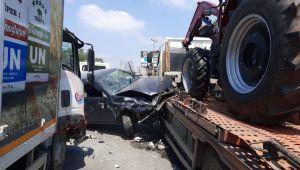 Patlama'da kızı bulunan baba fabrikaya giderken kaza yaptı