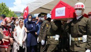 Şehit Astsubay Demirci son yolculuğuna uğurlandı