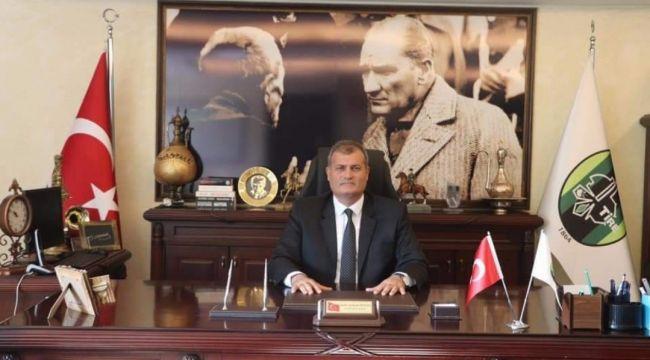 TİRE'DE BAŞKANLIK MAKAMINDA