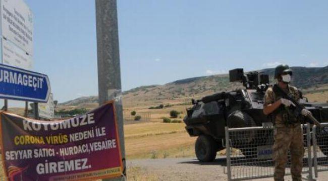 Tunceli'de günde 6 koronavirüs vakası çıktı