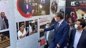 Zeytinburnu'nda 15 Temmuz fotoğraf sergisi açıldı
