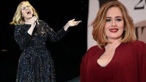 Adele tam 45 kilo verdi!