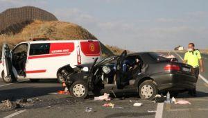 Erzincan'da feci kaza