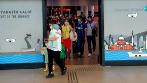 İstanbul Havalimanı'nda dönüş yoğunluğu!