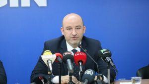 AK Parti il başkanı istifa etti!