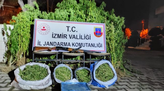 İZMİR'DE UYUŞTURUCU BASKINLARI