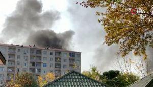 Ermenistan ordusu Berde kent merkezini vurdu
