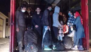 Van'da tırla göçmen kaçakçılığı