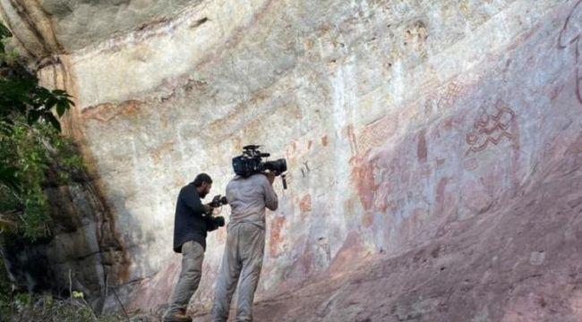 Amazon ormanlarında 12.500 yıllık çizimler bulundu