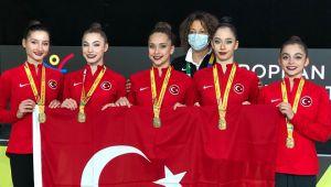 Ritmik Cimnastik Milli Takımı Avrupa Şampiyonu oldu