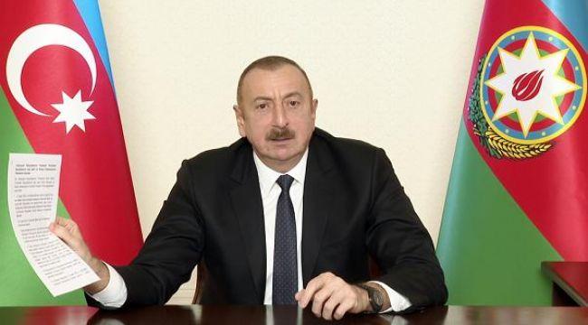 Aliyev Fransa'yı hedef aldı