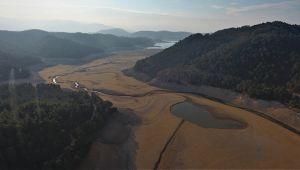 Balıkesir'deki Çayören Barajı kurudu