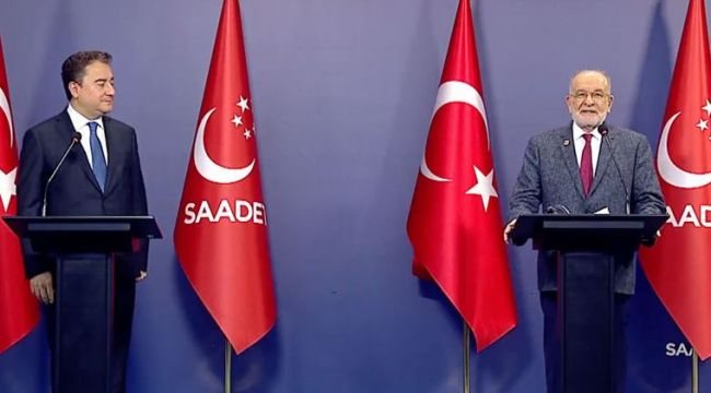 Ali Babacan ve Temel Karamollaoğlu'ndan ortak açıklama