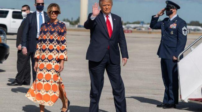 Melania Trump'ın tercihi ABD'de gündem oldu